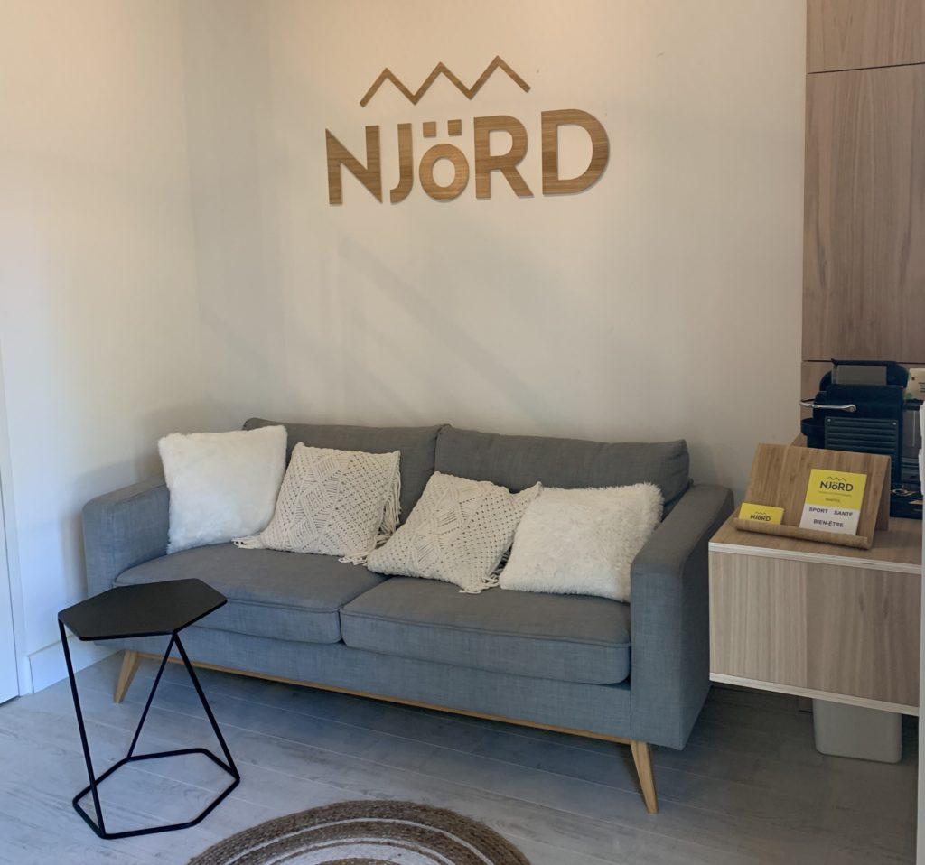Salle d'attente NjÖRD Studio de Nantes
