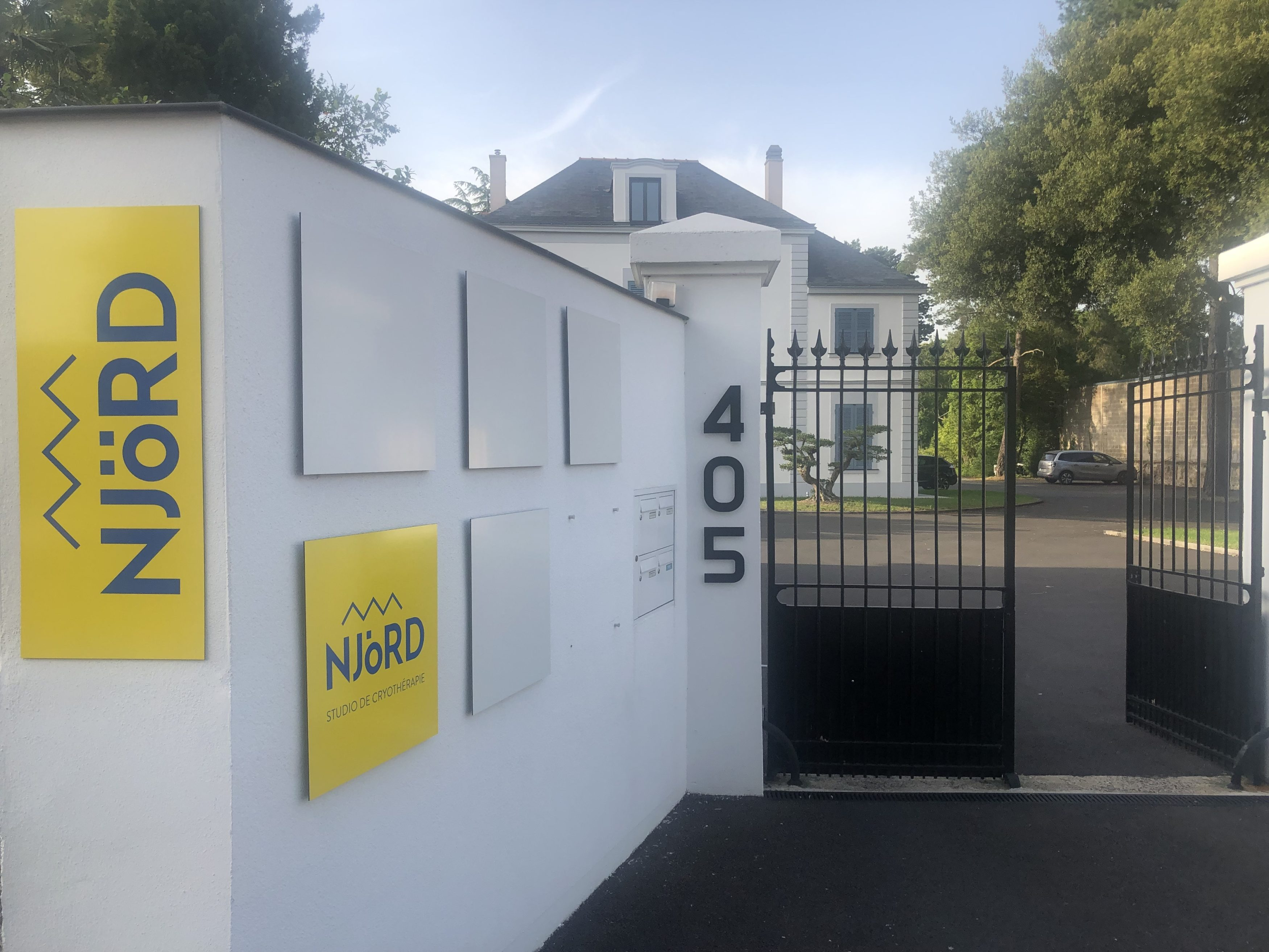 Entrée NjÖRD Studio de Nantes
