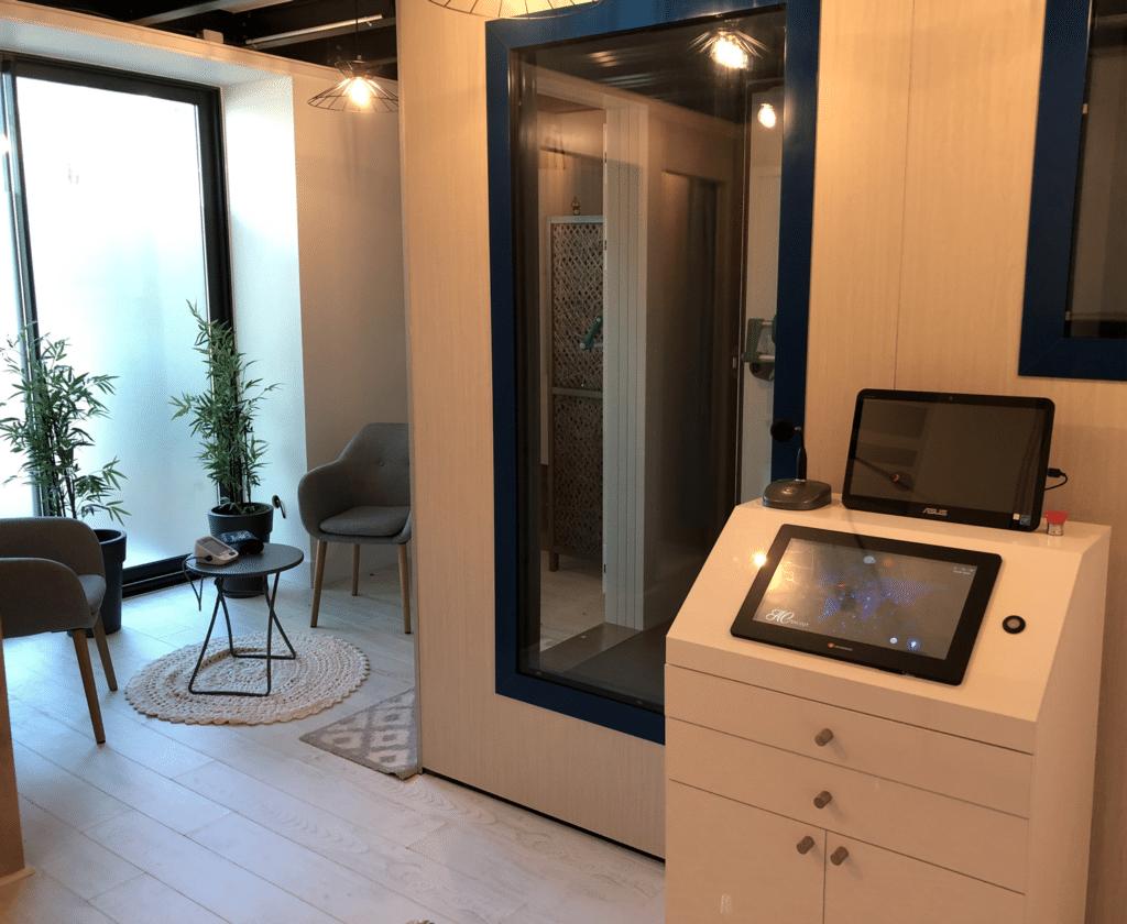 Salle de Cryothérapie Corps entier NjÖRD Studio de Nantes